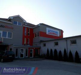 Autoškola Autoprogres - Budova autoškoly