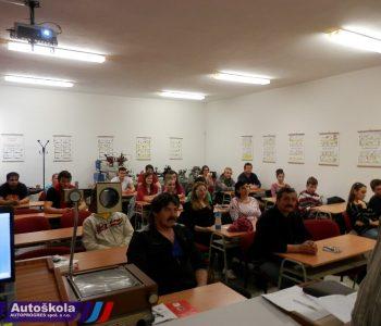 Autoškola Autoprogres - Učebňa