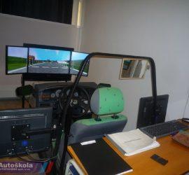 Autoškola Autoprogres - Trenažér
