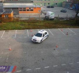 Autoškola Autoprogres - Cvičná plocha